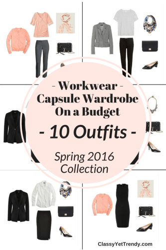 The Workwear Casule Wardrobe On a Budget