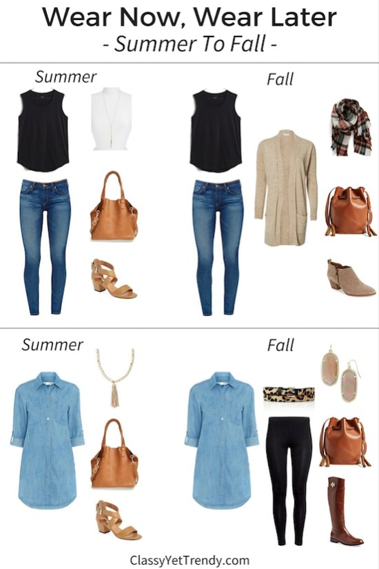 Wear Now, Wear Later: Summer To Fall