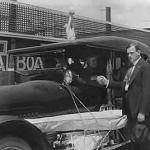H. M. Horkheimer to the left and his brother, Elwood D. Horkheimer, Balboa's treasurer and secretary.