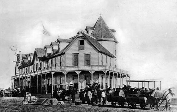 GOP Railroad & the Long Beach Hotel 1887