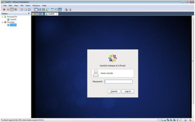 CentOS 6.3 Login in VMware Workstation 7.1