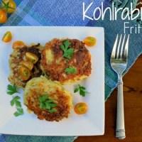 Recipe: Kohlrabi Fritters