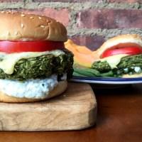 Spinach Lentil Veggie Burgers
