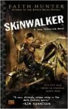 "<span class=""item""><span class=""fn title-book"">SKINWALKER </span><span class=""title-author""> by Faith Hunter</span></span>"