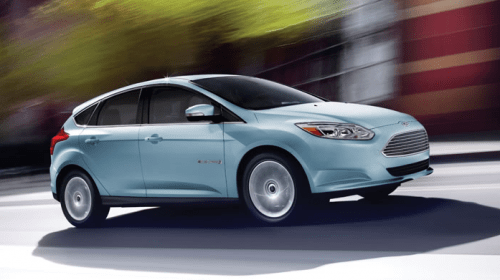 ford focus electric car ev