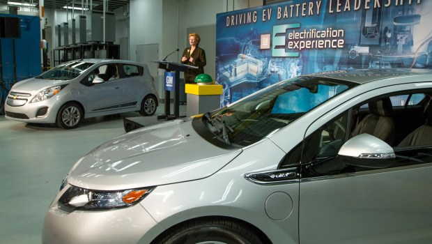 GM Battery Lab Expansion Ceremony