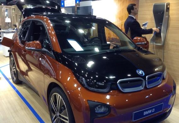 BMW i3 charging station