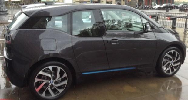 BMW i3 granite