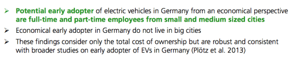 EV owner demographics conclusions