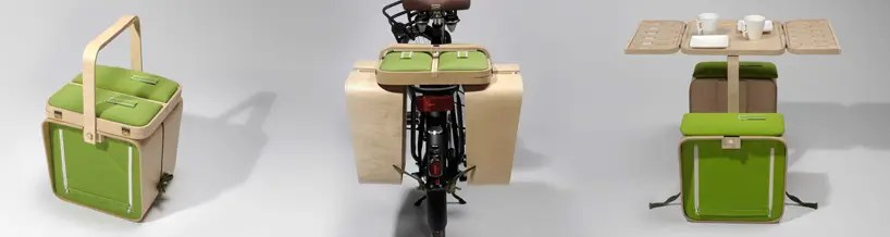 picnic basket for bike