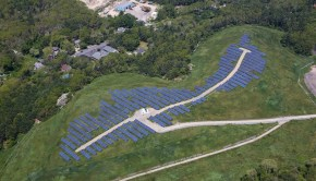 1.3 megawatt (DC) installation on the Russell Mills Rd. landfill site in Dartmouth, Massachusetts
