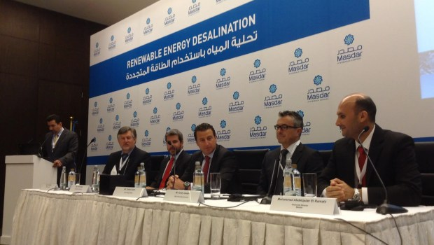 Water Desalination Renewable Energy Masdar 5