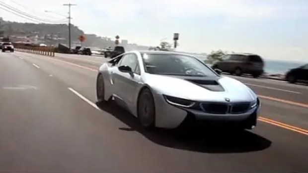 BMW i8 & Chris Harris (VIDEO)