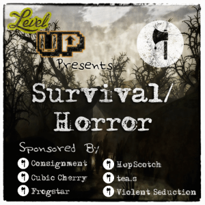 Level Up Survival horror logo