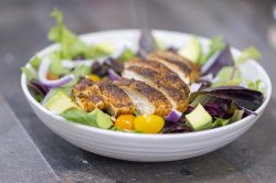 Sweet Ready To Eat Blackened Ken Salad Recipe Cleaver Cooking Blackened Ken Recipes Easy Blackened Ken Recipe Skillet Blackened Ken Salad Dished Up