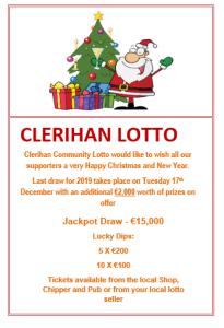 Christmas Lotto message 2