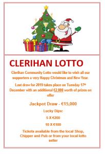Christmas Lotto message 2