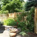 White Cedar Stockage Fence Stoneham MA