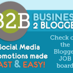 I Just signed-up for Business 2 Blogger