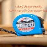 DIY Frugal Home Decor Designs