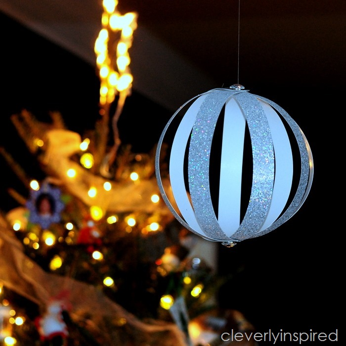 DIY New Year's Eve ball  (2)