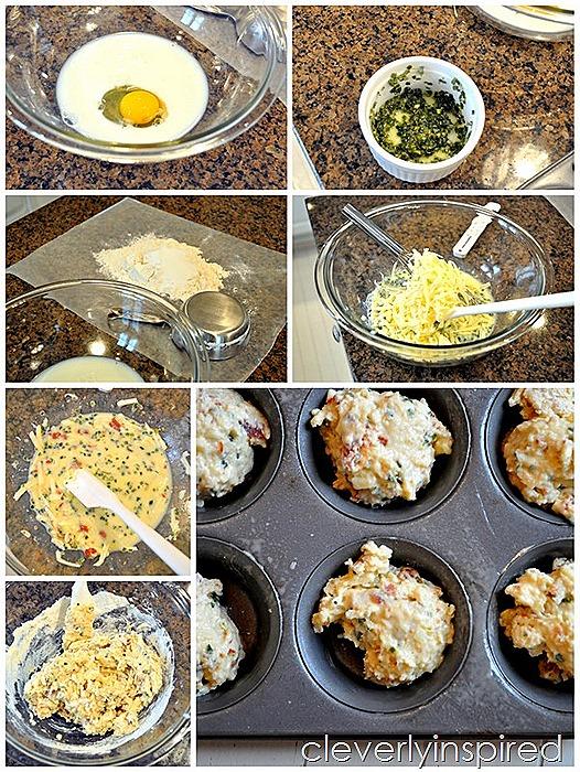 cheesy bacon muffin recipe (14)