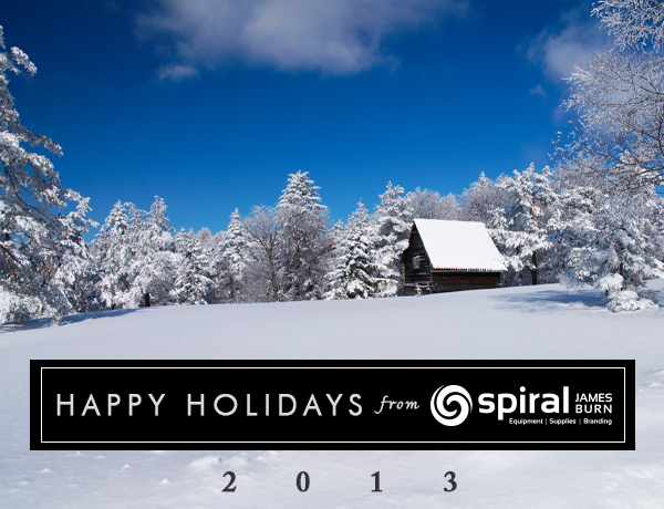 Happy Holidays from Spiral James Burn [2013]