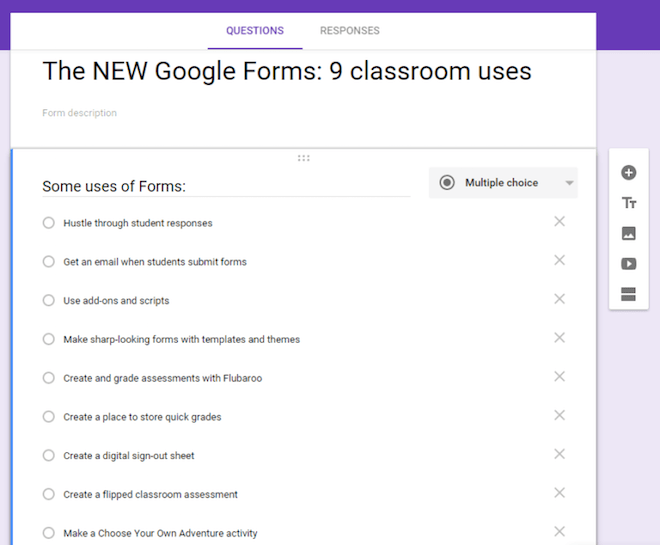 9 Ideas for Google Forms