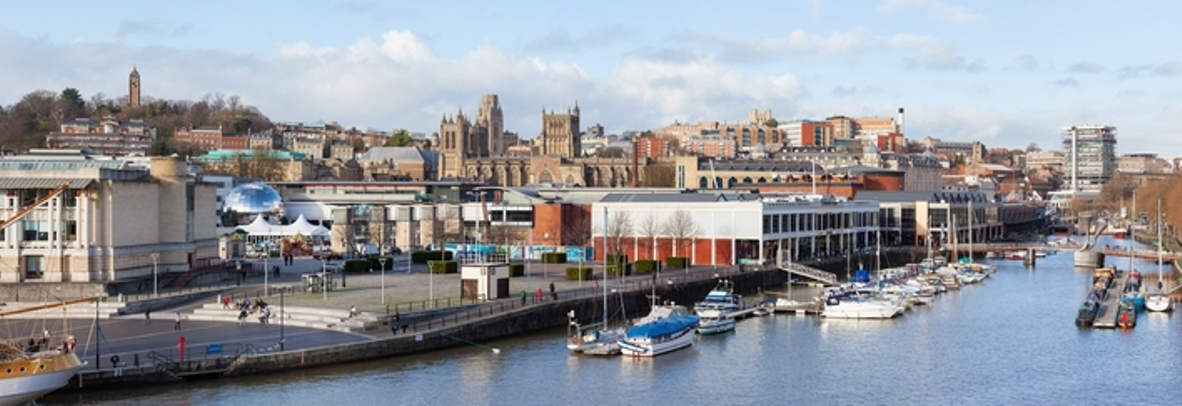 © Antbphotos | Dreamstime.com - Panoramic View Of Bristol From The Harbour Photo