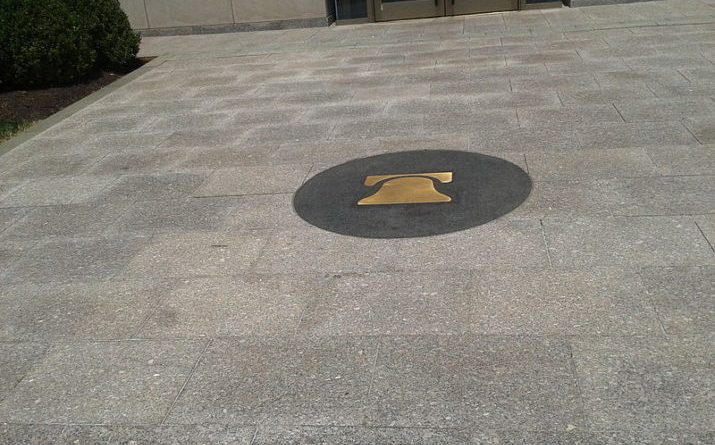Heritage_Foundation_the_logo_in_pavement