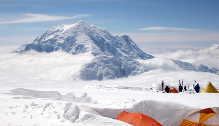 Denali Camp 4 14000 ft Mt Foraker