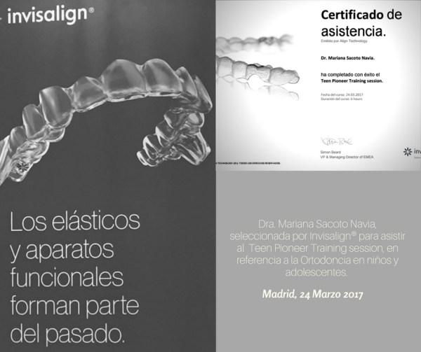 Clinica de Ortodoncia Doctora Mariana Sacoto Navia Expertos en Invisalign Barcelona Terrassa