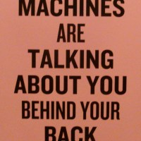 Slogans for the 21st century #3. (Douglas Coupland at the VAG)