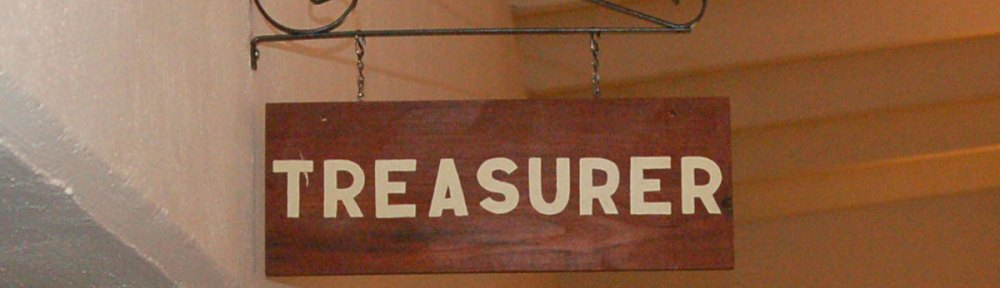 Clinton County Treasurer sign