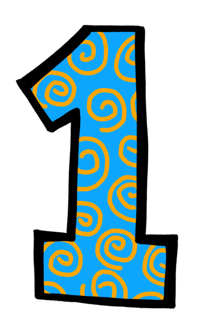 Free Number 1, Download Free Clip Art, Free Clip Art on Clipart Library
