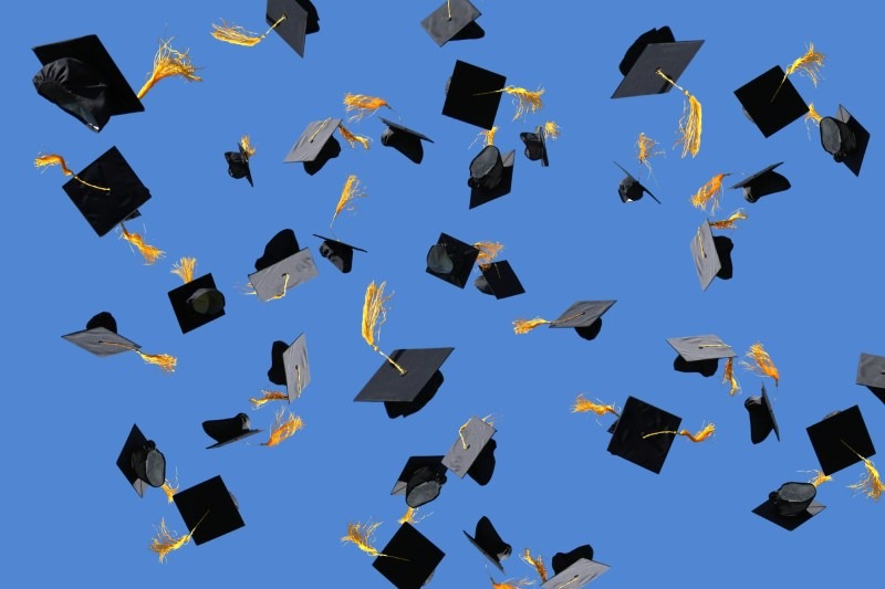 Large Of Blue Graduation Cap