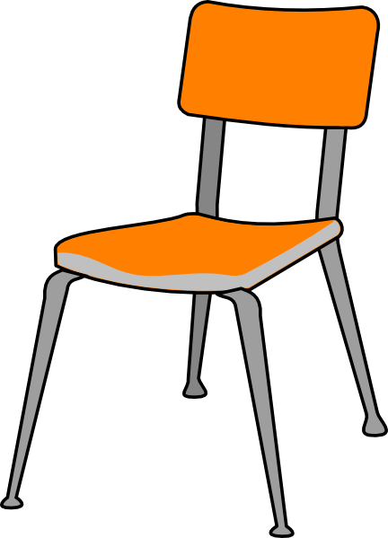 Wonderful School Chair Drawing Cartoon Chairs Clipart Clipartfest 2 With Decor