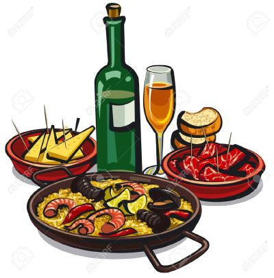 Tapas clipart - Clipground