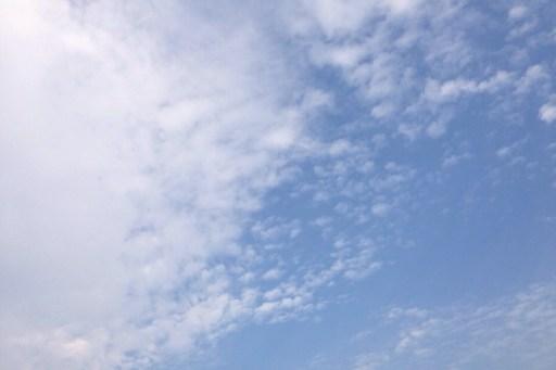 Today's sky 2013.10.31