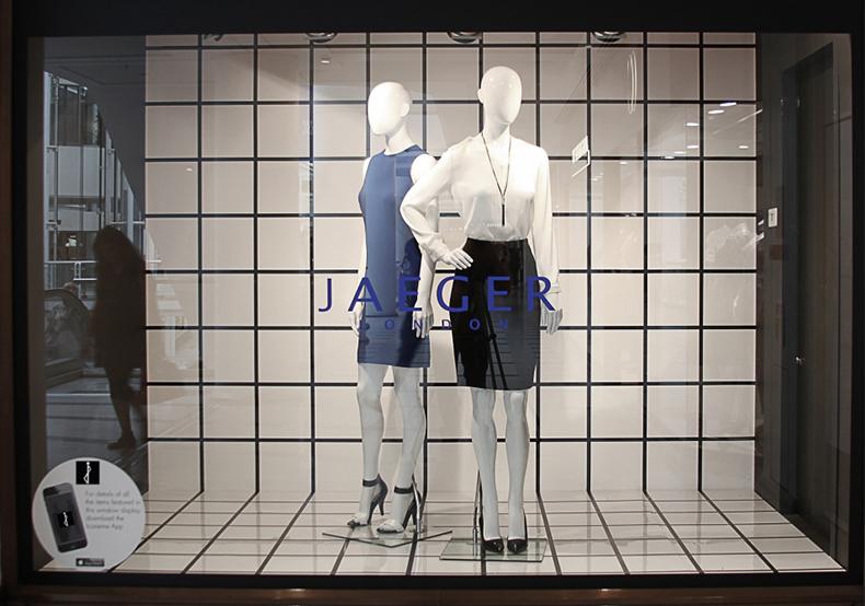 fashion mannequins in retail display window take merchandising digital inspired by best music festivals ever