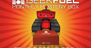 GeekFuel is a monthly subscription mystery prize box filled with geek and nerd centric goodies. Its funding on Kickstarter.