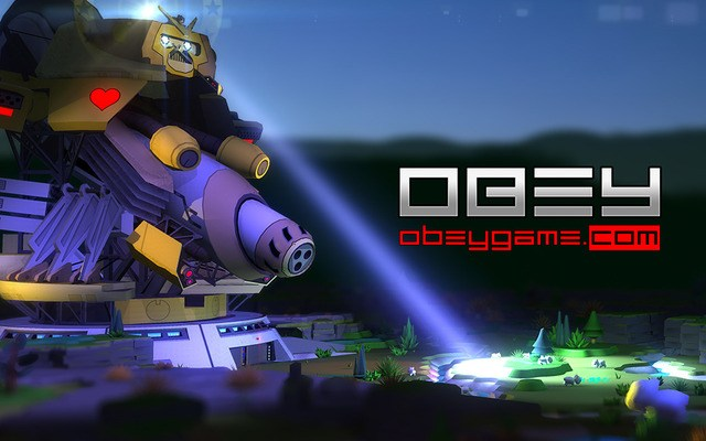 OBEY - Multiplayer with Cute Bunnies and a Giant Robot ...