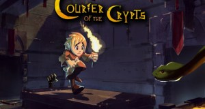Courier of the Crypts is a dungeon exploration hack-n-slash thats crowdfunding on IndieGogo.