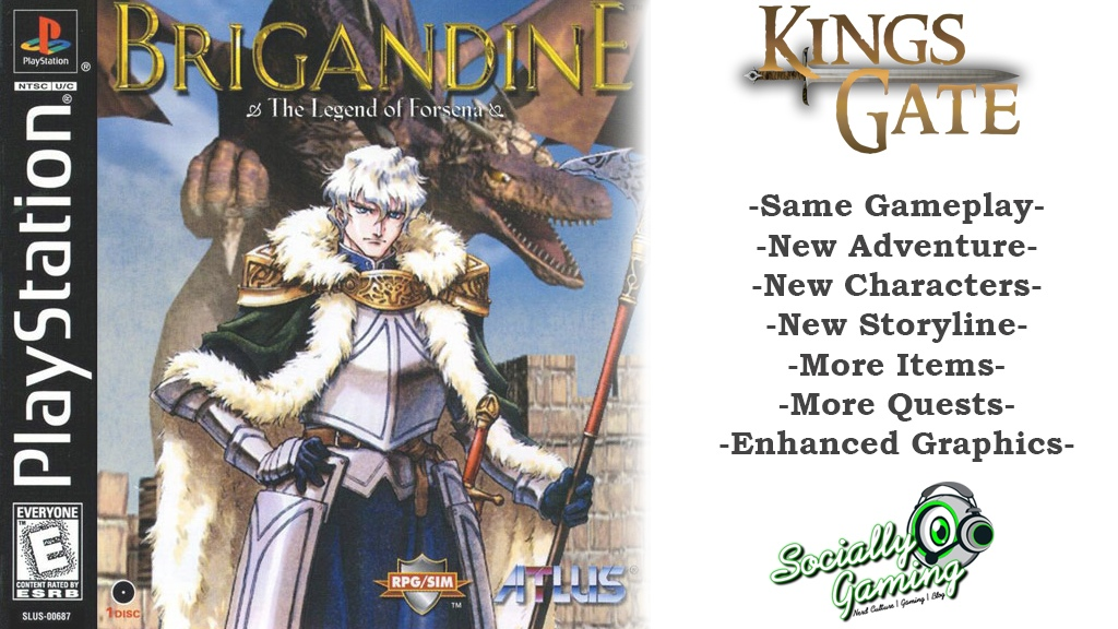 This Bootleg Kickstarter for a Brigandine Sequel is All Sorts of Wrong