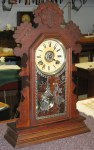 Ansonia Oak Kitchen or Shelf Clock