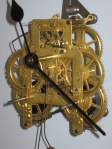 Seth Thomas Lyre Movement in Fancy Round Drop Case