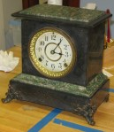 "Seth Thomas ""Sussex"" Adamantine Mantel Clock"