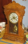 New Haven Oak Kitchen Clock