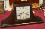 Gilbert Square Dial Tambour Mantel Clock, Made in 1925