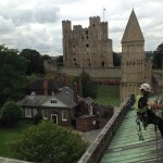CLOHESSY ROPE ACCESS ROCHESTER CATHEDRAL